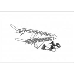Su-30 ladders with chocks 1/48