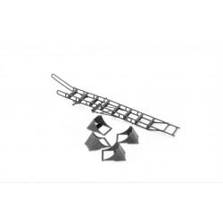Su-35 ladder w. chocks 1/48