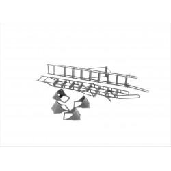 Su-35 ladder w. chocks w....