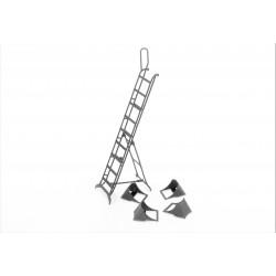 Mig-25 ladder + chocks